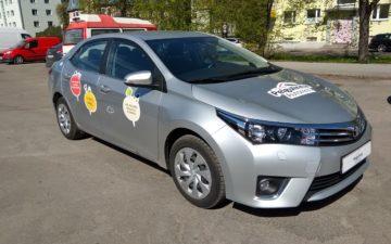 Toyota Corolla 15 MAN (kleebised)
