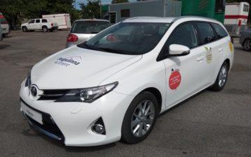 Toyota Auris TS 15 MAN (kleebised)